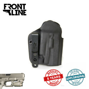 Front Line K3818X Open Top Kydex IWB Holster For Olight PL-MINI 2 (Glock 19/19X)