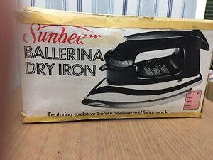 Sunbeam Ballerina Iron With Original Box