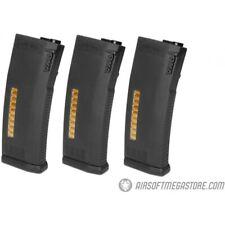 New listing KWA 120rd MS120 Mid Capacity Airsoft AEG Rifle Magazine 3 Pack BLACK