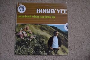 Bobby Vee Come Back When You Grow Up Rock Record LP VG+