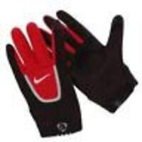 Nike Field Players Gloves v new football soccer size x large xl black / red
