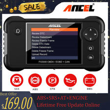 Automotive Diagnostic Scan Tool OBDII Code Reader Scanner OIL EPB BMS Reset Tool