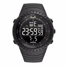 SMAEL Outdoor Military Sports Watch Men Hiking Waterproof LED Stopwatch Watch