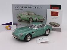 """CMC M-132 # Aston Martin DB4 GT Zagato Baujahr 1961 in """" grünmetallic """" 1:18 RAR"""