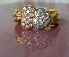 anillo mujer de oro con brillantes a2846 750 oro amarillo, 750 Oro Blanco