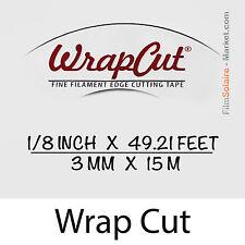 """WrapCut"" 15m,hilo de coupe lámina vinilo,adhesivo,cubierta,cinta aislante,"