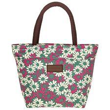 Equilibrium Daisy Waterproof Handbag Green Ladies Womens Floral Flowers Bag Gift