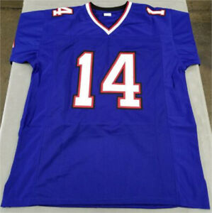 XL Jersey - Blue, Red & White - Number 14 - Diggs - Stitched, Raised Lettering