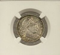 1892-O Barber Quarter NGC AU55 - First Year Issue - RARE - Undergraded Toner