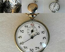 VINTAGE WWII GERMANY MILITARY STOPWATCH D.R.P. 100230 MOVEMENT 3364 STOP WATCH