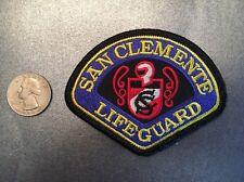 San Clemente California Lifeguard Ems Paramedic Patch Ca Small Size
