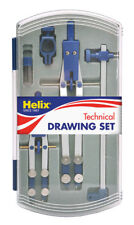 Helix Precision Plus High Quality Precise Drawing Set Profesional Student A33002