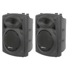 """2x QTX QR12 800W 8-Ohm 12"""" Passive DJ Band Club PA Speaker or Floor Monitor"""