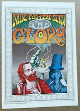 Mine Eyes Have Seen The Glory: art poster from Rick Griffin