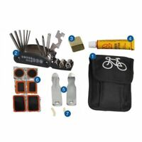 Bicycle Repair Tool Box Kit Set Cycling Tire Repair Service Portable Bike Tools