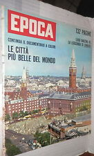EPOCA 12 novembre 1961 Copenaghen Einaudi Kruscev Molotov Sarfatti Mussolini di