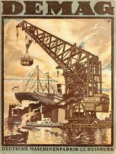 Lot 10 x DEMAG Duisburg hist. Aktien 1937 Düsseldorf Mannesmann Terex Cranes NRW
