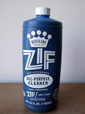 VTG Bestline Products ZIF BioDegradable All-Purpose Cleaner 32oz Concentrate NOS