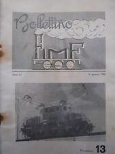 Bollettino treni FIMF n°13 1964 [TR.33]