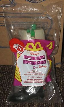 1999 Inspector Gadget McDonalds Happy Meal Toy  Leg Tool 4