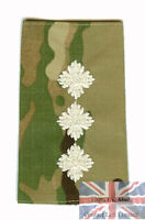 Pair of Ivory on Official Multicam Captain RANK SLIDES