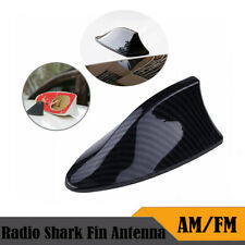 Carbon Fiber Style Car Shark Fin FM/AM Antenna Radio Signal For BMW AUDI VW Ford