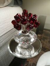 Swarovski 15 Red Roses - Mint, Boxed And W/Certificate