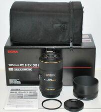 Canon EF Sigma 105 mm F2,8 EX Makro DG OS HSM  (258954)