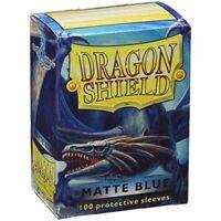 Dragon Shield Matte Blue Card Protector Sleeves 100ct MTG Magic Pokemon ATM11003