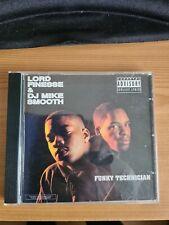 Lord Finesse & DJ Mike Smooth - Funky Technician CD Album D.I.T.C East Coast Rap
