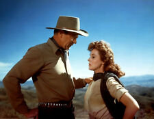 Gary Cooper and Susan Hayward UNSIGNED photo - H8302 - Garden of Evil