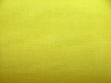 3.5 Metres Romo Brushed Cotton Sulphur Curtain Cushion Upholstery Fabric