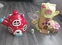 ELC Happyland Childrens Toy Bundle Fairy Bluebell BootTeapot Mouse House Playset