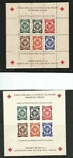 Poland. 1945 .Judaica. Dachau Perf & Imperf Concentration Camps Sheets. Mng