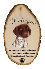 Outdoor Welcome Sign (Tp) - German Shorthaired Pointer 94049