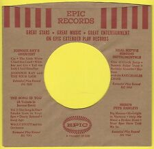 EPIC REPRODUCTION RECORD COMPANY SLEEVES - (pack of 10)