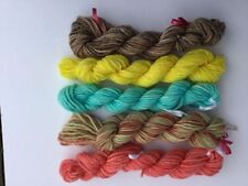 8 Ply Hand Dyed Craft Yarns