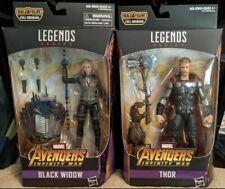 NEW Marvel Legends THOR & Black Widow Infinity War figure - Cull Obsidian BAF