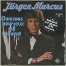 Jurgen Marcus 45 Tours Eurovision 1976