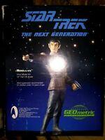 GEOMETRIC ROMULAN VINYL MODEL KIT, STAR TREK: THE NEXT GENERATION, NEW NM-MIB