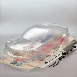 RC Car Karosserie 1:10 unlackiert BMW M3 GTR Carson Dekor 24h Nürburgring 69145