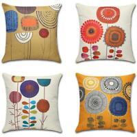 Cushion Cover Cotton Linen Pillowcases Throw Pillow Case Sofa Car Home Bed Favor