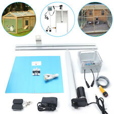 Us Heavy Duty Automatic Chicken Door Opener Kits Timer Operated Complete Kit