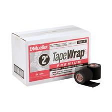 Mueller Tape Wrap Premium Black - Box of 24 Rolls