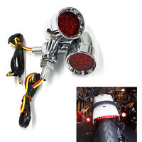 Motorcycle Turn Signals Red Lights For Harley Davidson Sportster XL 1200 883 US