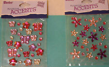NEW GEMS  *Your Choice* BUTTERFLIES &  FLOWERS or FLOWERS  DARICE Stickers