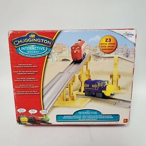 Chuggington Interactive Railway Track 23 Pieces Elevated Track Pack Lot LC55402