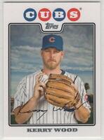 2008 Topps Baseball Chicago Cubs Team Set