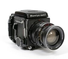 Mamiya RB67 6X7 camera with WLF + 120 back + 65mm lens NEW BELLOWS