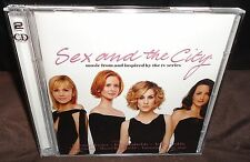 Sex And The City (CD, 2004, 2-Discs) Music Inspired By The TV Series